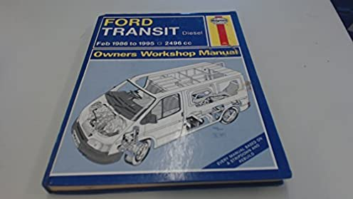ford transit diesel 86 95 owner s workshop manual haynes owners rh amazon com Ford Transit Connect Ford Transit Custom