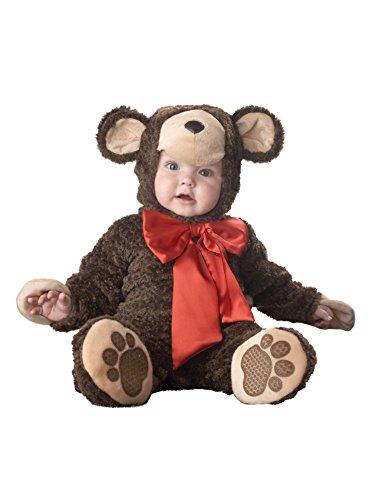 [Lil Teddy Bear Costume - Infant Small] (Lil Teddy Bear Costume)