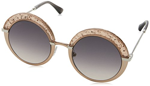 Jimmy Choo Gotha S 68I Nude Gotha/S Round Sunglasses Lens Category 2 Size 50mm by JIMMY CHOO