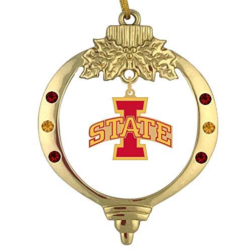 Final Touch Gifts Iowa State University Christmas Ornament (Christmas Iowa University Of Ornaments)