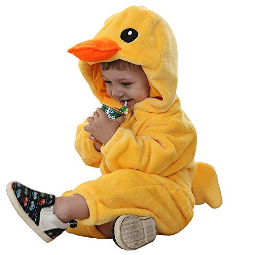 MerryJuly Toddler Unisex-Baby Halloween Costume Animal Onesie Outfit