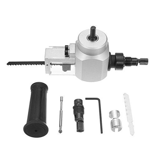 Double Head Sheet Nibbler Metal Cutter Cutting Tool Drill Attachment by SPK603