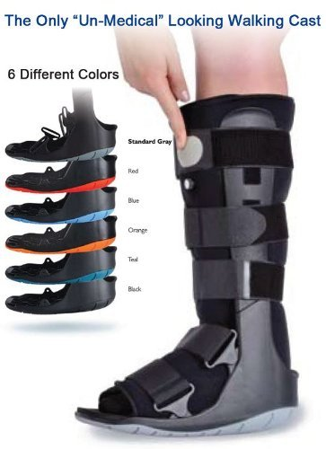 Ovation Air Cam Walker Walking Boot (Small, Blue...