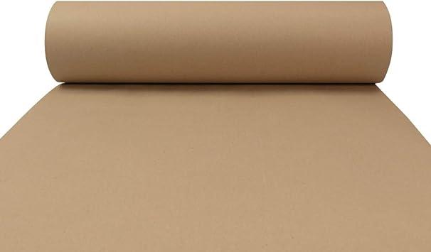 Triplast Rouleau de papier kraft brun /écologique 100/% recycl/é biod/égradable et enti/èrement recyclable 500 mm x 10 m