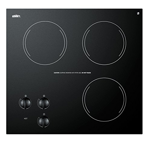 Three-Burner 230V Electric Cooktop With Three Heating