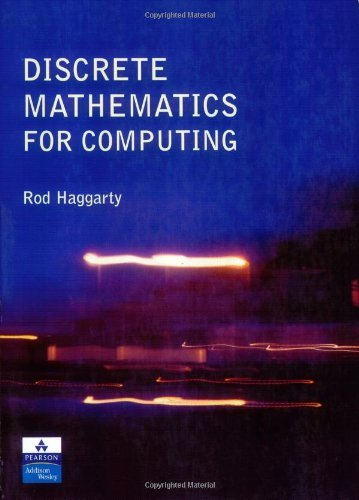 By Rod Haggarty - Discrete Maths for Computing: 1st (first) Edition pdf epub