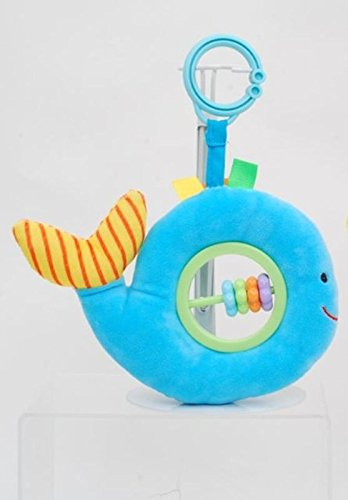 Infant Whale Rattle - Linzy Toys 5