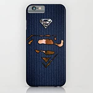 Society6 - Super Heroes Man Ripped Torn Tee Tshirt Iphone 4 4?­ iPhone 6 Case by Three Second