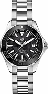 TAG Heuer Aquaracer Black Mother of Pearl 35mm Womens Watch WAY131K.BA0748