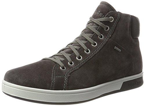Hommes Legero Arno Gris Haute Sneaker (lavagna)
