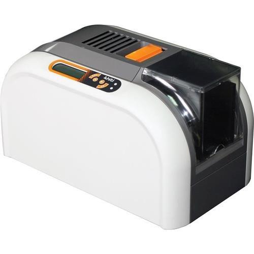 HiTi CS-220e Dye-Sub Color Transparent Card Printer, 300dpi Print Resolution, 100 Cards Input Capacity, Up to 180/1400 Color/Black Cards per Hour, USB