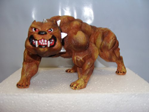 New Pitbull Dog Xtreme Figurine Bodybuilding Weightlifting Collectible Statue