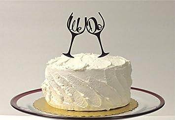 Amazing Elegant Wedding Cakes Small Wedding Cake Design Ideas Solid 6 Tier Wedding Cake Wedding Cakes Charleston Sc Old Wedding Cakes Bay Area PinkWedding Cakes Las Vegas Amazon.com: Wedding Cake Topper   We Do Inside Toasting Wine Glass ..