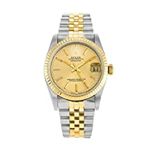 Rolex Oyster Perpetual Datejust automatic-self-wind womens Watch 68273 (Certified Pre-owned)