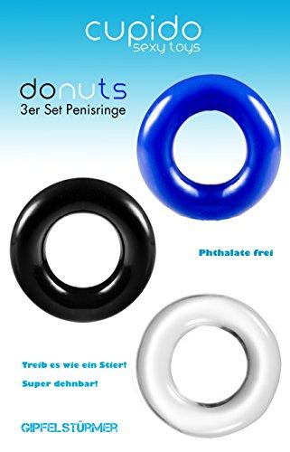 Amazon.de: Big Dingeling Donut, 3er Penisring und Cockring Set ...