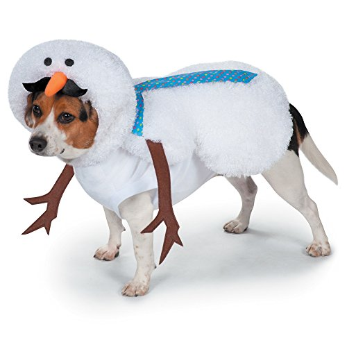 Casual Canine Mustache Snowman Costume for Dogs, 16