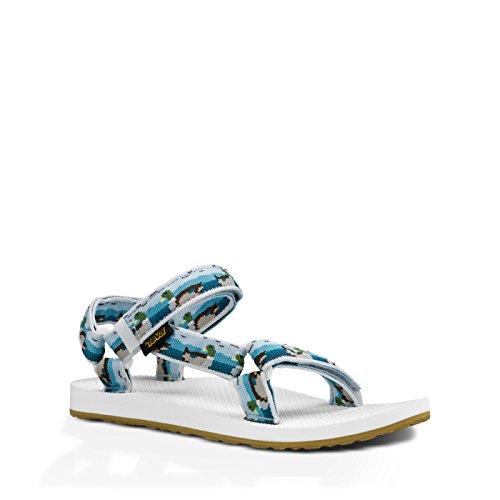 blanco W azul Universal Sandalias Original Teva BqPfwHOO