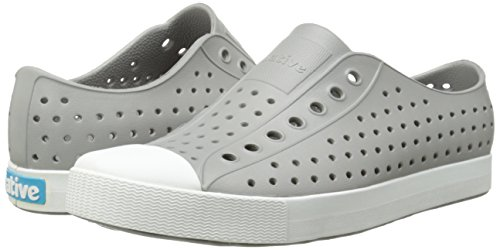 Native Shoes Jefferson Water Shoe Pigeon Grey/Shell White 3 Men's (5 B US Women's) M US by Native Shoes (Image #6)