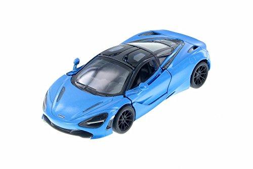 Kinsmart McLaren 720s Blue 1:36 DieCast Model Toy Car Collectible Hobby Super Sport Car Collection (Model Car Toy Sport)