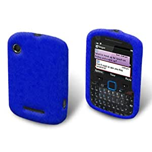 Blue Texture Gel Skin Case for Motorola Grasp WX404