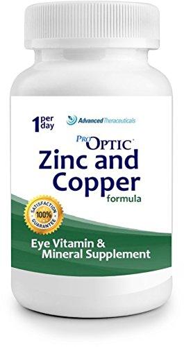 Pro-Optic Zinc & Copper Formula (3 Month Supply) 1-Per-Day