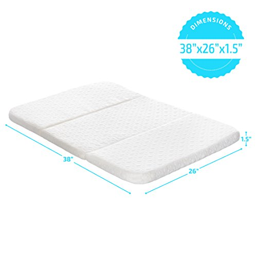 Milliard Pack and Play Mattress, Conveniently Folds Into Bonus Carry Bag by Milliard (Image #1)