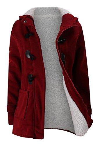 Fur Hooded Hoodie Sweatshirt - 2