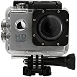 1080P Action Sports Camera -Self Timer,Tuscom Waterproof ( 30 Meters Under Water) Action Camera (1.5 Inch Ultra HD Screen)Camcorder HD 1080P Mini DV Cam (White)