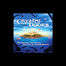 Island Realm: Crystal Doors, Book 1 Audiobook by Rebecca Moesta, Kevin J. Anderson Narrated by Joshua Swanson