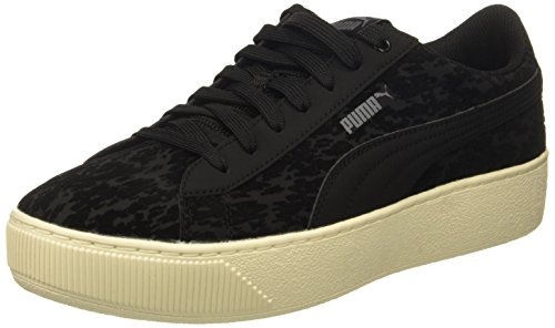 PUMA Women's Vikky Platform VR, Black Black, 8 M US For Sale
