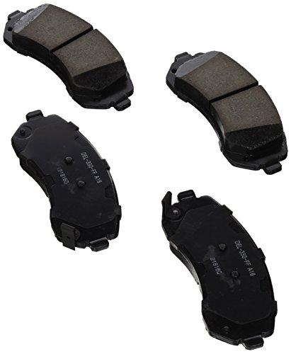 fessional Ceramic Front Disc Brake Pad Set ()