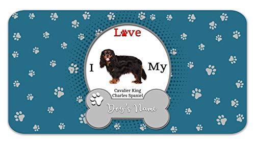 Bleu Reign Personalized Custom Name I Love My Dog Cavalier King Charles Spaniel 12