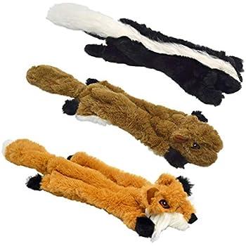 Amazon.com : UOLIWO Stuffingless Dog Toys with Squeaker