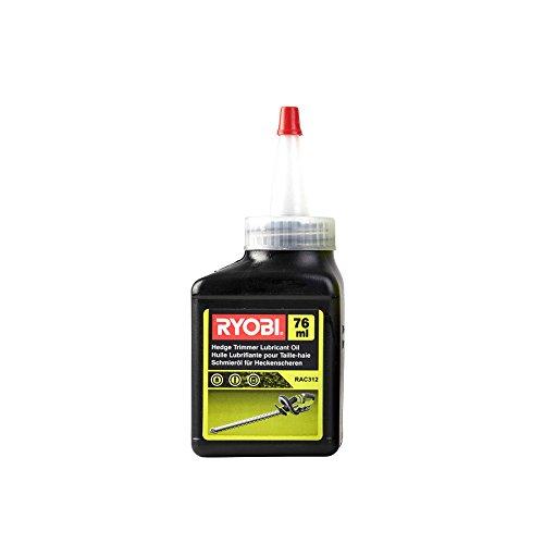 Ryobi RAC312 RAC312-Aceite lubricante para Cortasetos, 76 ml