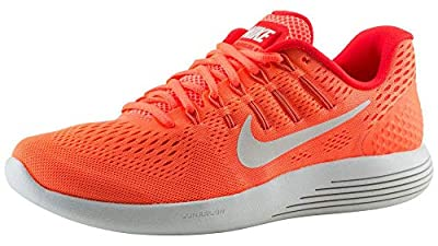 Nike Womens Lunarglide 8 Runing Trainers 843726 Sneakers Shoes (US 8.5, Bright Mango White 800)