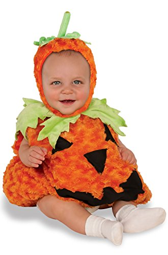 Rubie's Baby Pumpkin Costume, Multicolor, Infant (USA 1-2)