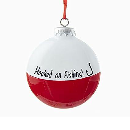 Kurt Adler Hooked on Fishing Bobber Christmas Ornament - Amazon.com: Kurt Adler Hooked On Fishing Bobber Christmas Ornament