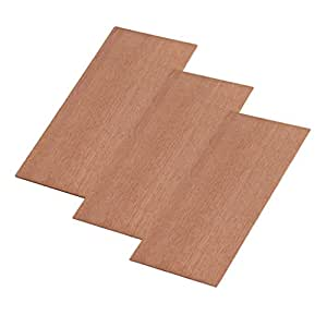 dovewill 3pcs sapele head veneer headplate headstock luthier tonewood for luthier. Black Bedroom Furniture Sets. Home Design Ideas