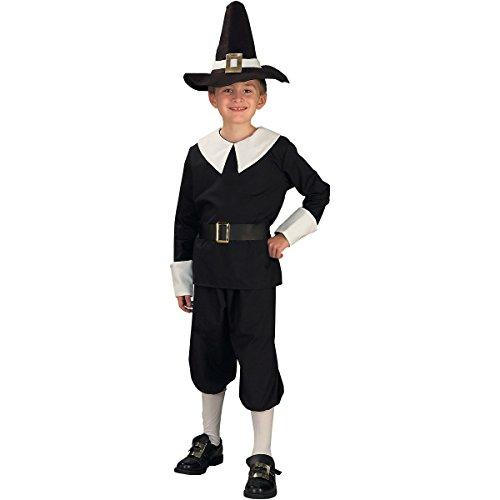 Pilgrim Boy Costume - Medium