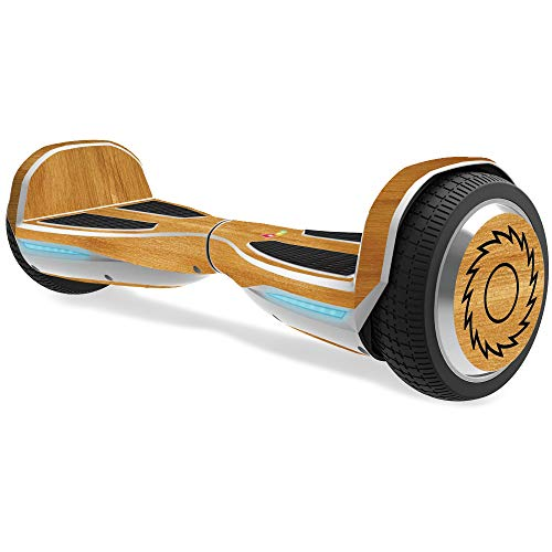 Cedar Looks Solid Top - MightySkins Skin for Razor Hovertrax 1.5 Hover Board - Birch Grain | Protective, Durable, and Unique Vinyl Decal wrap Cover | Easy to Apply, Remove, and Change Styles | Made in The USA