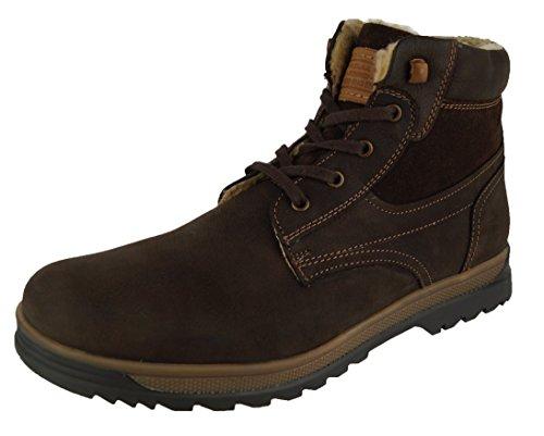 360 Leder Herren-Schuhe Boots Kurzschaft Leder-Stiefel Outdoor Stiefeletten Moritz Braun