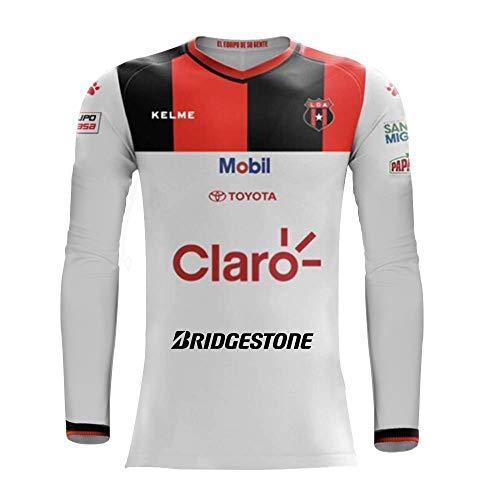 Liga Deportiva Alajuelense - Home and Away Team - 2018 Original Jersey Long Sleeve... (Long Sleeve, Extra Large) ()