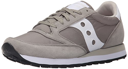 Saucony Originals Men's Jazz Original Classic Retro Sneaker, Light Grey, 14 M US - Retro 14 Light