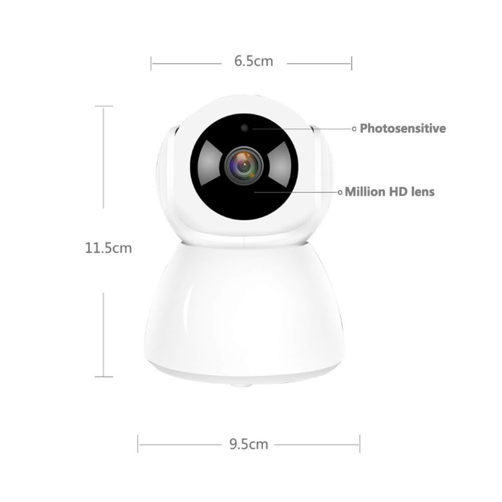 TUWEN Vigilancia CáMara InaláMbrica Interior WiFi Monitor Casa 360 Grados 2 Millones HD Monitor Giratorio: Amazon.es: Jardín