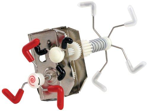 Skidum Mechanical Wind up Kids Toy Robot Gear Box (Engineer Robot)