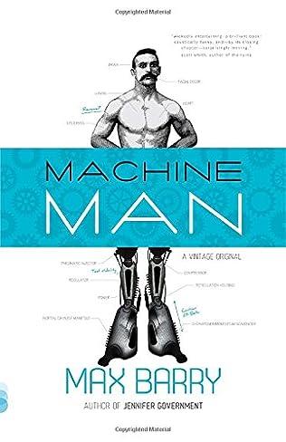 book cover of Machine Man
