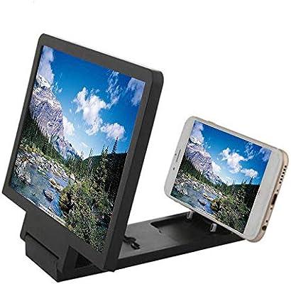 HJDQ Pantalla del teléfono móvil Lupa - Pantalla 3D de Alta ...