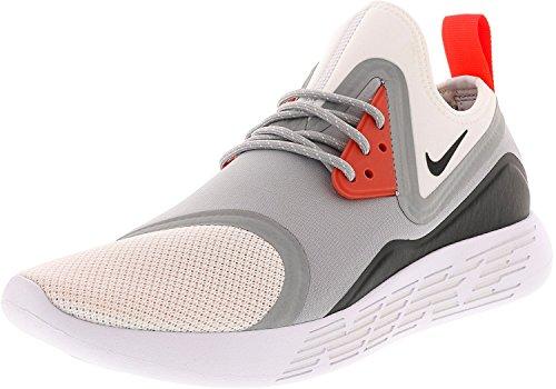 Nike Heren Lunarcharge Bn Enkellange Loopschoen Grijs / Oranje / Wit