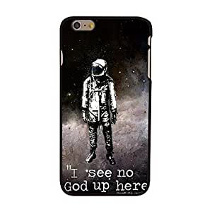 YULIN No God Up Here Style Plastic Hard Back Cover for iPhone 6 Plus