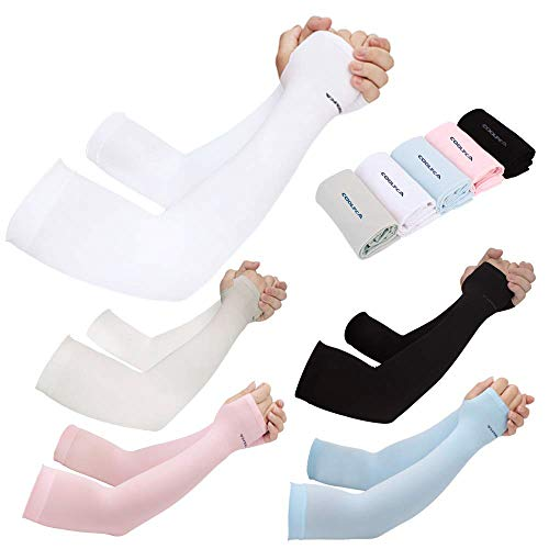 Achiou Arm Sun Sleeves UV Protection Cooling review